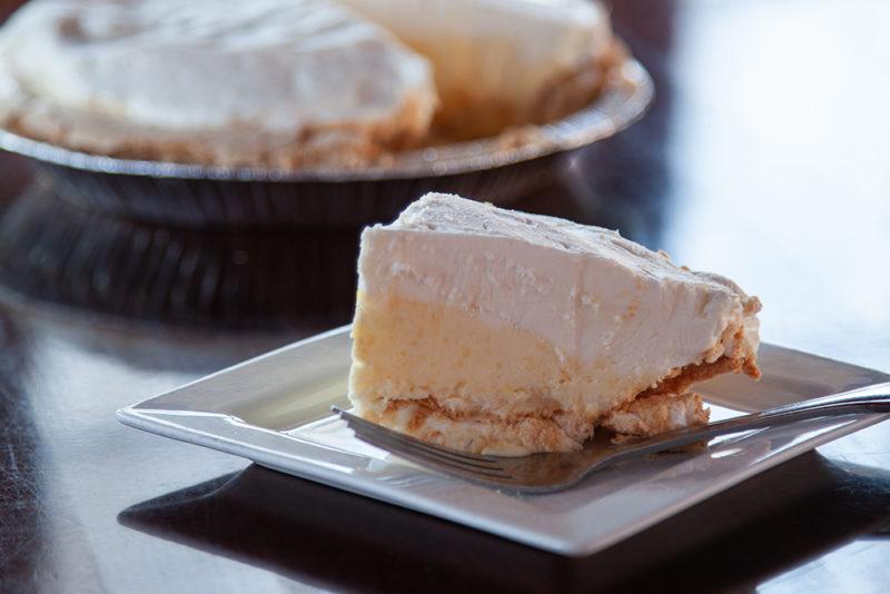 One of the best pies in Minnesota a Rustic Inn Favorite Lemon Angel Cream Pie